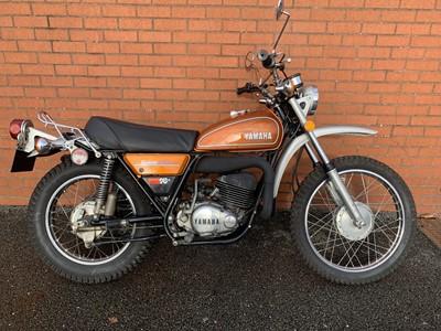 Lot 133 - 1974 Yamaha DT250 Enduro