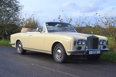 Lot 356 - 1974 Rolls-Royce Corniche Convertible