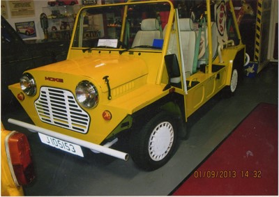 Lot 336 - 1992 Mini Moke SE