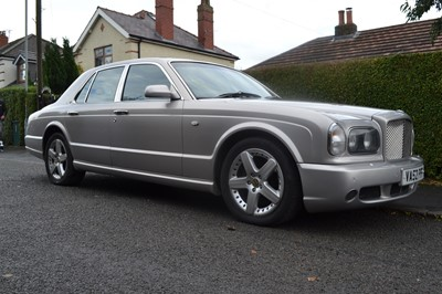 Lot 21 - 2002 Bentley Arnage T