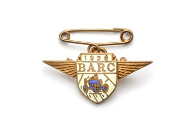 Lot 174 - 1938 BARC Brooklands Membership Lapel Badge