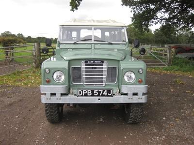 Lot 12 - 1970 Land Rover 109 Series IIA