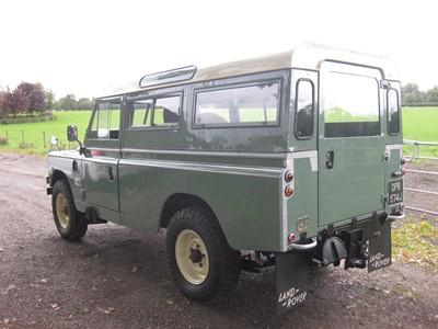 Lot -1970 Land Rover 109 Series IIA