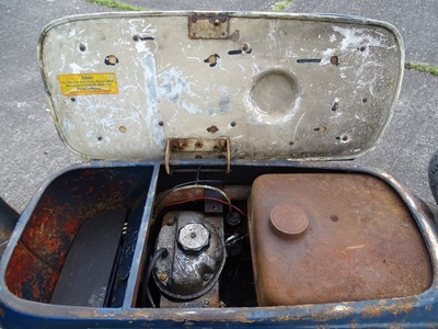 Lot 11-1960 Heinkel Tourist 175cc