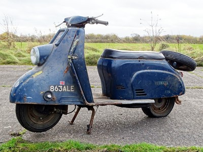 Lot 11 - 1960 Heinkel Tourist 175cc