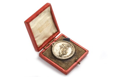 Lot 191 - Paris - Madrid Award Medallion Dated 1903