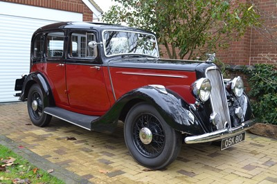 Lot 316 - 1936 Humber Twelve