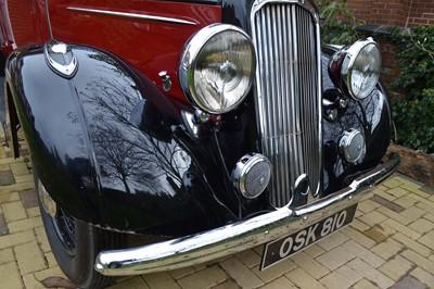 Lot 316-1936 Humber Twelve