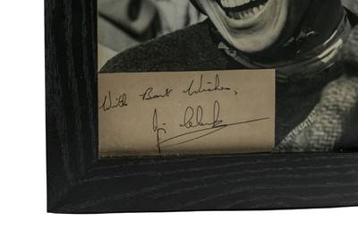 Lot 101 - A Rare Jim Clark Period Publicity Photograph and Autograph