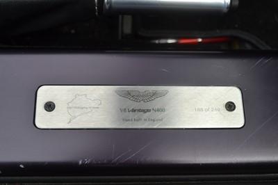 Lot 39 - 2009 Aston Martin V8 Vantage N400 Roadster