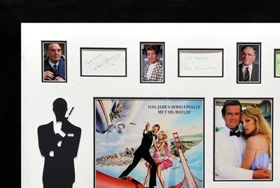 Lot 76 - James Bond - 'A View to a Kill' Main-Cast Signed Autograph / Poster Presentation