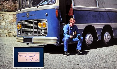 Lot 90 - Michael Caine as Charlie Croker - Behind the Scenes of 'The Italian Job' - Autograph Presentation