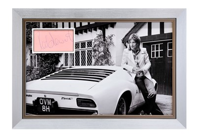 Lot 91 - Rod Stewart and the Lamborghini Muira Autograph Presentation