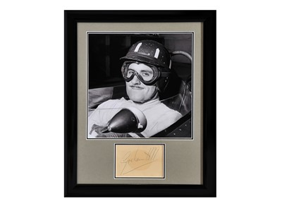Lot 98 - Graham Hill Autograph Presentation (1929 - 1975)