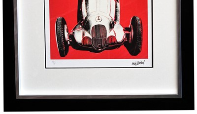 Lot 89 - Mercedes Benz W125 Artwork by Andy Warhol