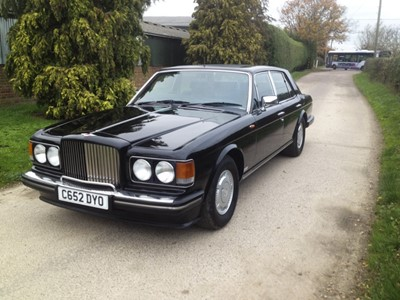 Lot 379 - 1986 Bentley Turbo R