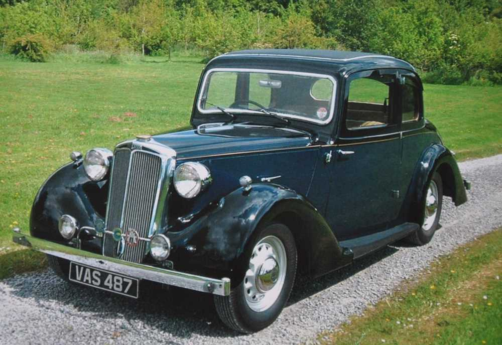 Lot 377 - 1938 Lanchester 14/6 Doctors Coupe