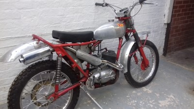 Lot 209 - 1964 BSA Bantam D7 Trials Bike