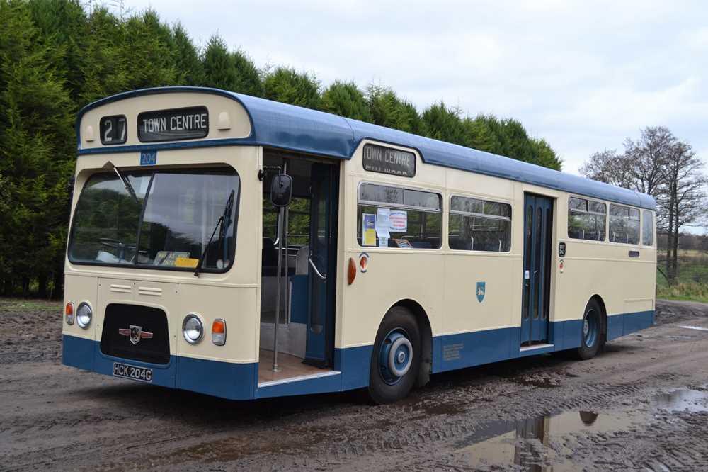 Lot 22 - 1968 Leyland Panther Single-Deck Bus