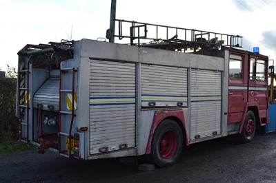 Lot 8 - 1984 Dennis SS135 Fire Engine