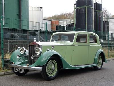 Lot 40 - 1937 Rolls-Royce 25/30 Sports Saloon