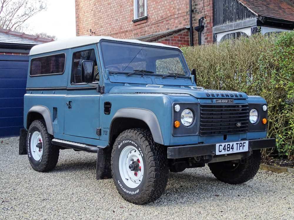 Lot 41 - 1986 Land Rover Defender Ninety 3.5 Litre V8