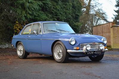 Lot 23 - 1968 MG C GT