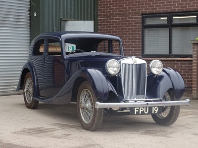 Lot 241 - 1937 MG VA Saloon