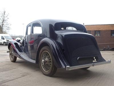 Lot 241 - 1937 MG VA Saloon