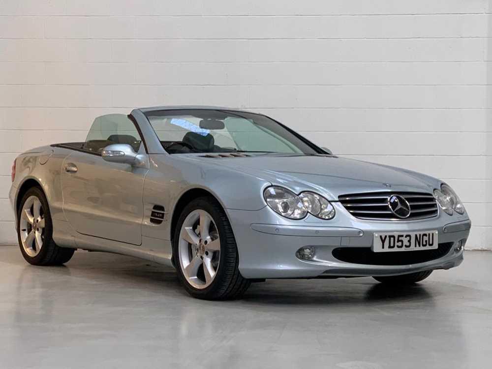 Lot 36 - 2003 Mercedes-Benz SL600