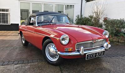 Lot 19 - 1963 MG B Roadster