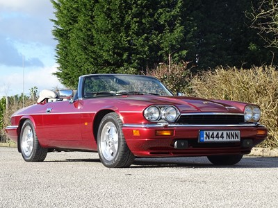 Lot 223 - 1995 Jaguar XJS 4.0 Celebration Convertible