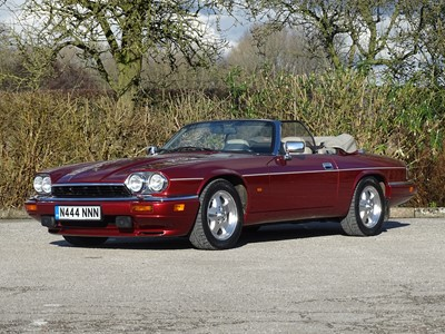 Lot 1995 Jaguar XJS 4.0 Celebration Convertible
