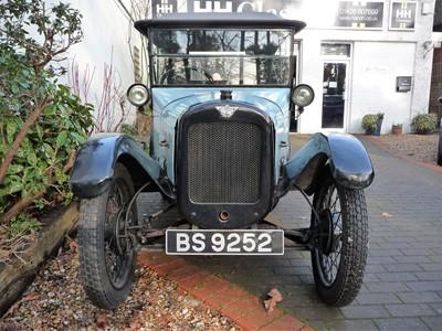 Lot 1924 Austin Seven 'Pram Hood' Chummy