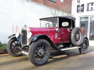 Lot 1928 Austin 'Heavy' 12/4 Two-Seater with Dickey
