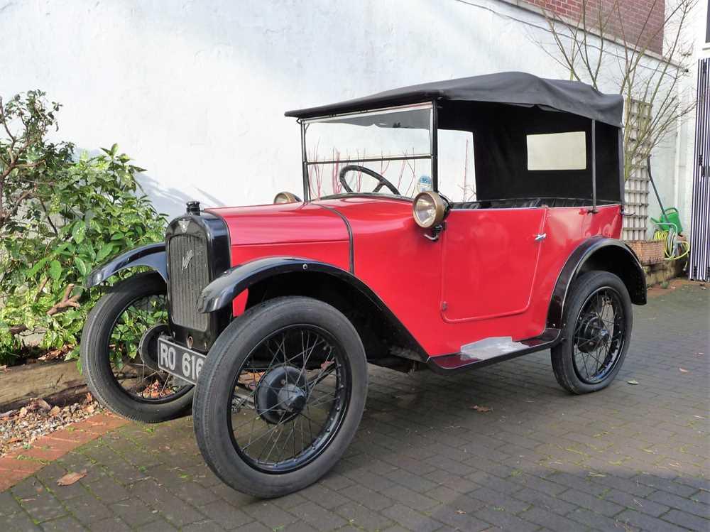 Lot 17 - 1927 Austin Seven Chummy