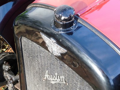 Lot 1927 Austin Seven Chummy