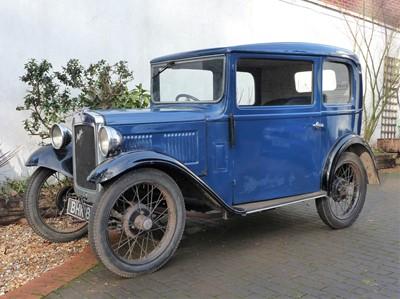 Lot 1934 Austin Seven Box Saloon