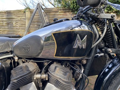 Lot 1937 Matchless Model X