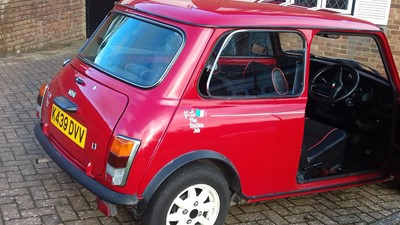 Lot 1993 Rover Mini Italian Job