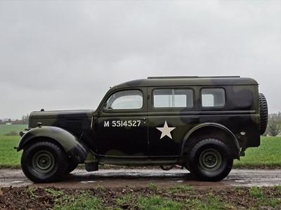Lot c.1942 Ford WOA2 Heavy Utility Car