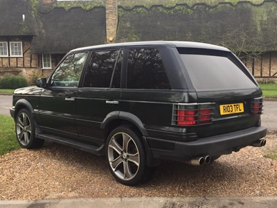 Lot 1998 Range Rover 4.0 SE
