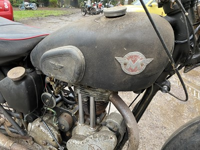 Lot 1952 Matchless G3LS