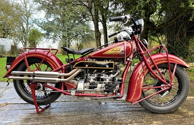 Lot 1937 Indian Four 437