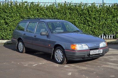 Lot 206 - 1989 Ford Sierra 1.8 Chasseur