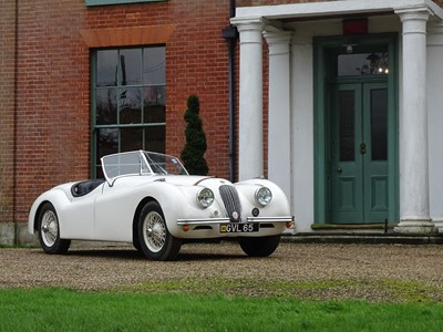 Lot 1953 Jaguar XK120