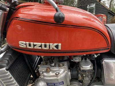 Lot 1975 Suzuki GT 750