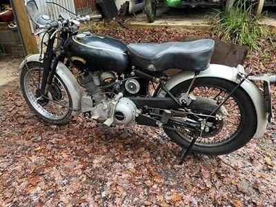 Lot 1951 Vincent Comet Series C