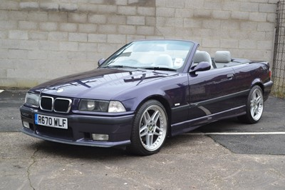 Lot 205 - 1998 BMW M3 Evolution Convertible