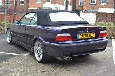 Lot 1998 BMW M3 Evolution Convertible
